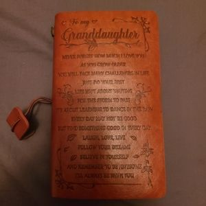 Notebook with embossing - Granddaughter